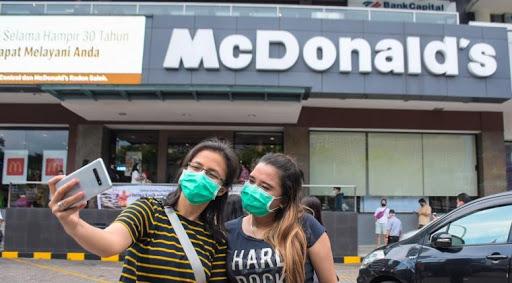 Manajemen McDonald Sarinah Dikenai Sangsi Akibat Langgar PSBB Jakarta