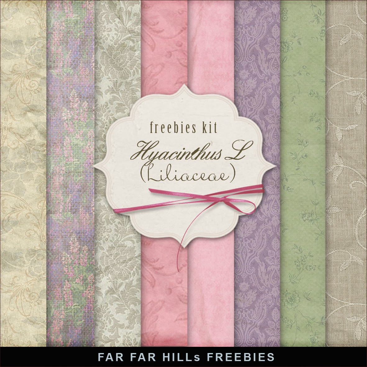 Freebies Papers Kit - Hyacinthus