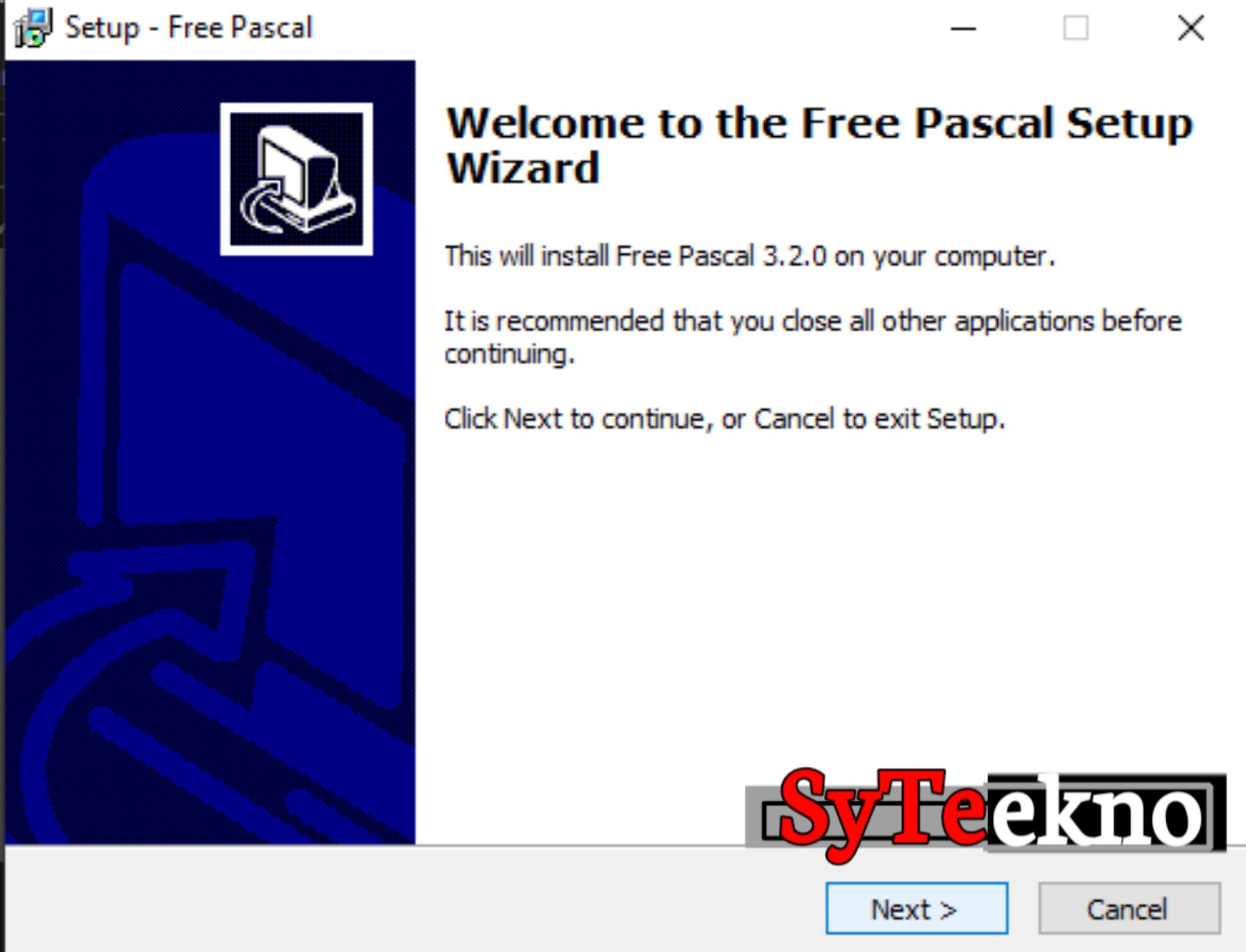 Instalasi Pascal bag 1