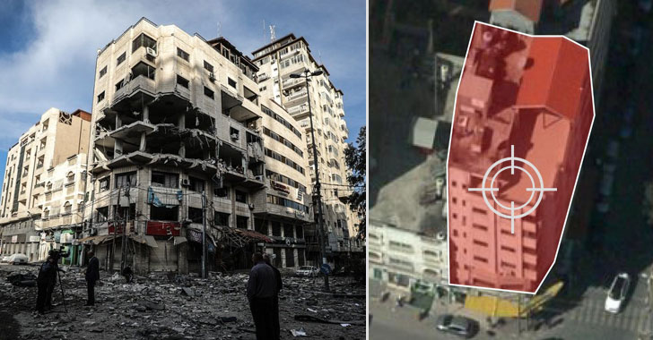 Israel Neutralizes Cyber Attack by Blowing Up Building with Jihadist Hackers