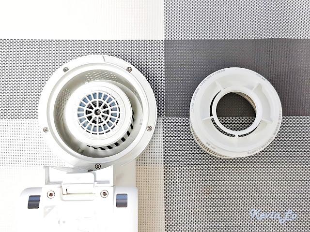 【MI 小米】米家無線吸塵器 G9 (白色) 開箱_HEPA 濾網