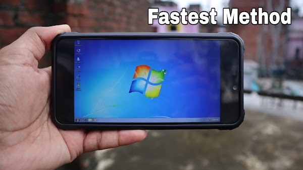 How to Run Windows 7 on Termux on Android ..!!!