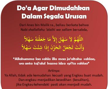 alt Doa Supaya Dimudahkan Dalam Segala Urusan