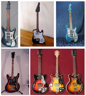 гитары Silvertone-TEISCO