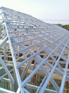 pasang atap baja ringan cianjur pusat kanopi cipanas puncak