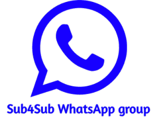 Join thousands of sub for sub WhatsApp group and increase your subscriber instantly