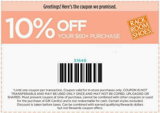 photograph relating to Rack Room Shoes Printable Coupon referred to as Rack Space Footwear Printable Coupon codes May perhaps 2018