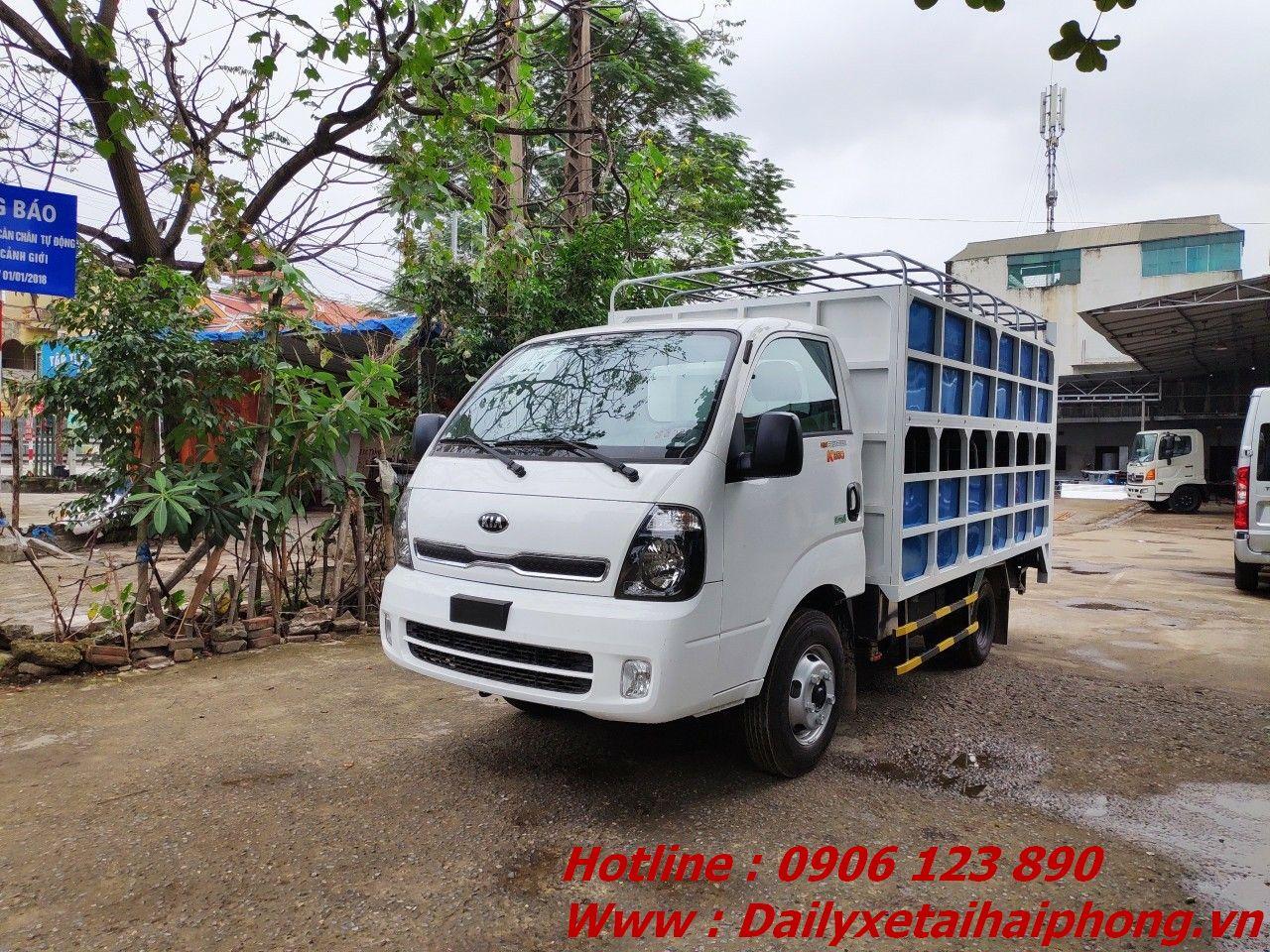 Bán xe tải Thaco chở lợn tại Hải Phòng