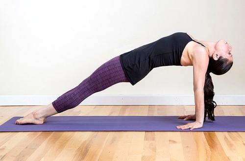 bài tập giúp giảm béo lưng hiệu quả