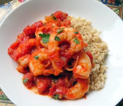 Smoky Tomato & Garlic Prawns