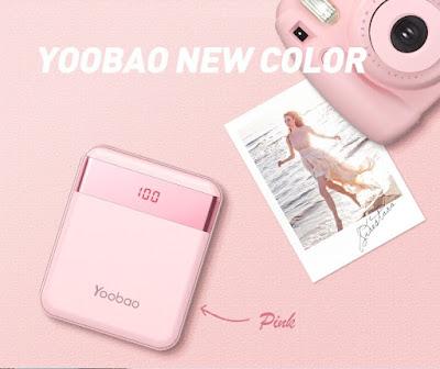 รีวิวขายแบตสำรอง Power Bank Yoobao รุ่น S20Pro LED Dual Output Universal