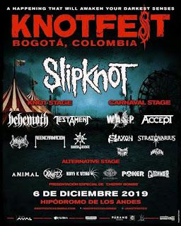 POS Festival KNOTFEST Bogotá 2