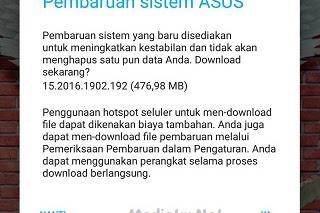 Layar HP Asus Max Pro Tidak Bisa Disentuh