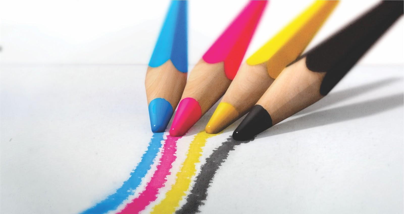 cores cmyk lapis - O que são cores CMYK