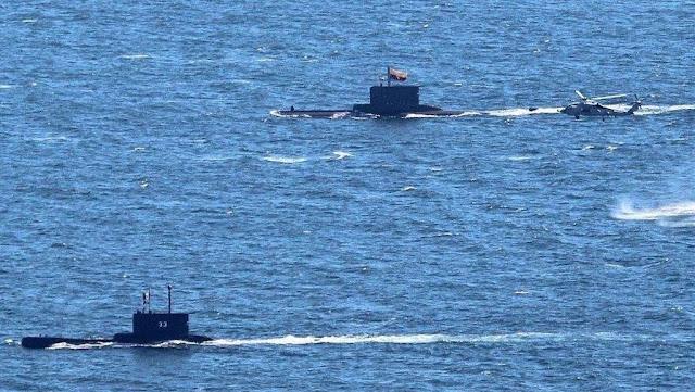 Operativo DESI con los Submarinos ARC Pijao (COLOMBIA) y BAP Pisagua (PERÚ)
