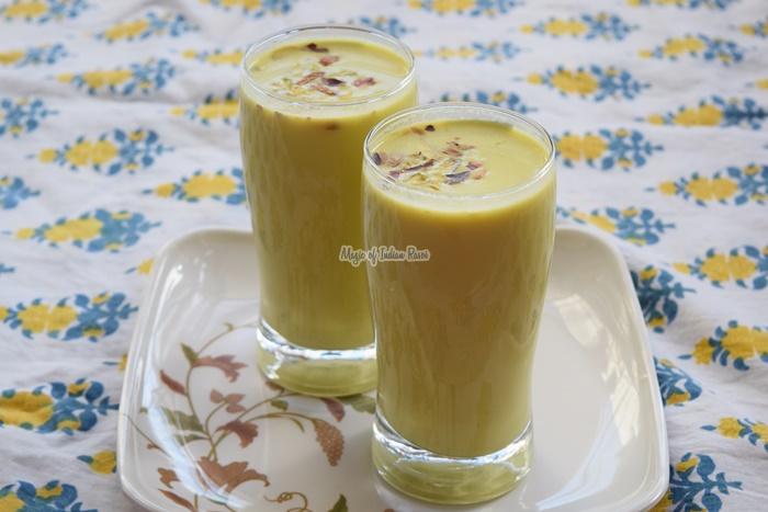Shahi Thandai - Holi & Maha Shivratri Recipe - Priya R - Magic of Indian Rasoi