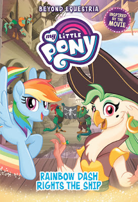 Rainbow Dash Rights the Ship Book Cover