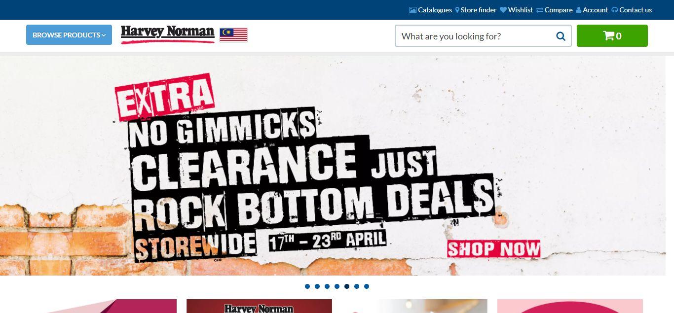 Harvey Norman e-commerce