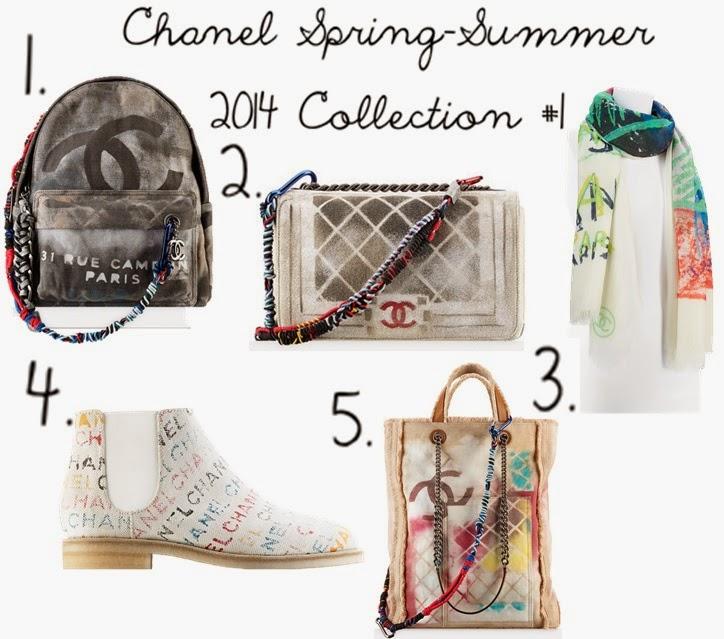 fc7501ccab7d Chloe's Watsits : Chanel Spring-Summer 2014 #1 | Graffiti