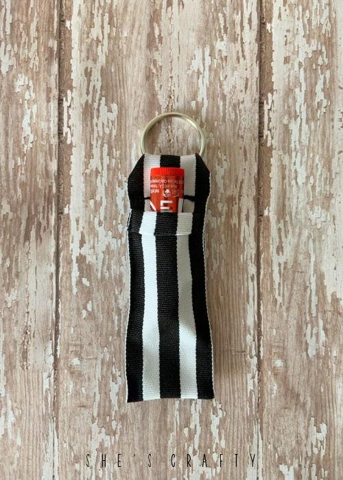 Key Chain Chapstick holder.