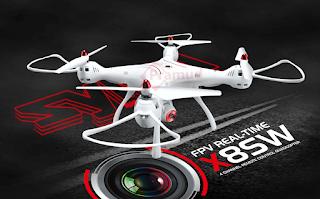 review dan spesifikasi drone syma x8sw indonesia