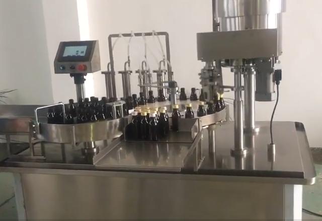 بوتلوں کو بھرنے والی مشین