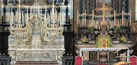 The Silver Altar and Tribuna of the Basilica of Santa Maria Assunta in Gandino