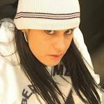 Andrea Rincon, Selena Spice Galeria 19: Buso Blanco y Jean Negro, Estilo Rapero Foto 48
