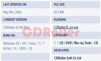 CDRoller Download