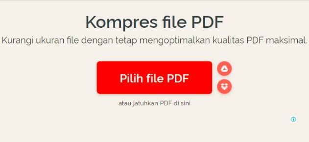 PDF Compress Terbaik Untuk Mengecilkan Ukuran File