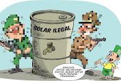 Ko' Afu Sakti! Bisnis BBM Bersubsidi Ilegalnya Kebal Hukum