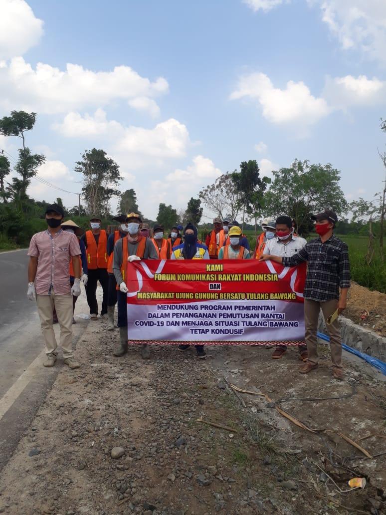 Warga Kampung Astra Kesetra, Terbantu Adanya Proyek Program Padat Karya Tunai