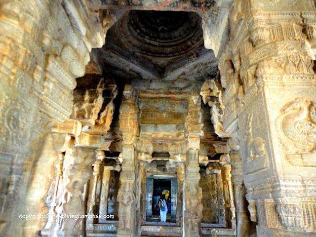 Veerabhadra Temple Lepakshi Architecture
