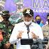 Cegah Covid-19, Dandim 0510/Trs Bersama Bupati Dan Kapolresta Kampanye Serentak Gunakan Masker