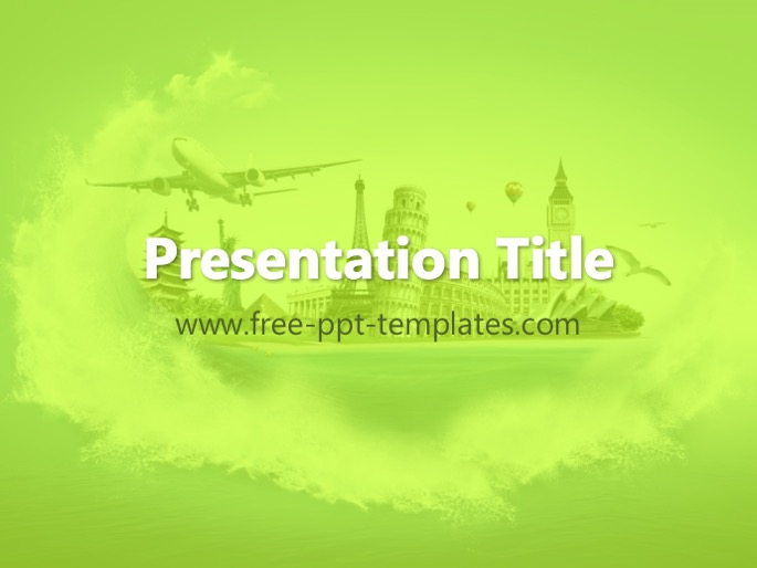 Tourism ppt template toneelgroepblik Choice Image