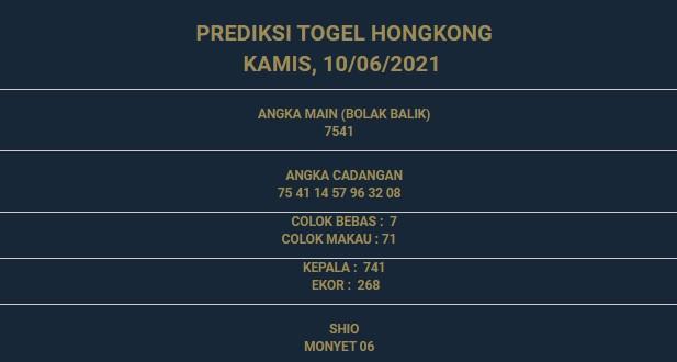 3 - PREDIKSI HONGKONG 10 JUNI 2021