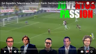 Serie A Torino Juventus 1-3 mix telecronisti tifosi video