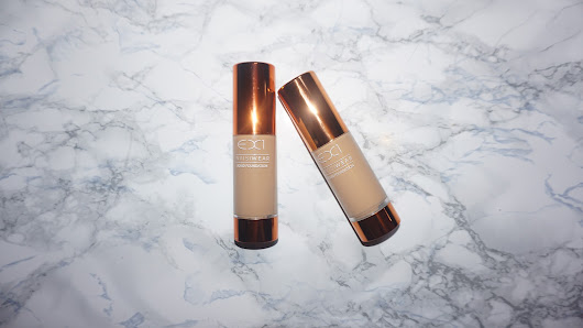 EX1 Foundation review¦ Foundations created for warm, golden tanned skin.