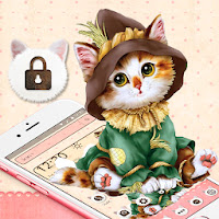Cute Brown Cat Theme Apk free Download for Android