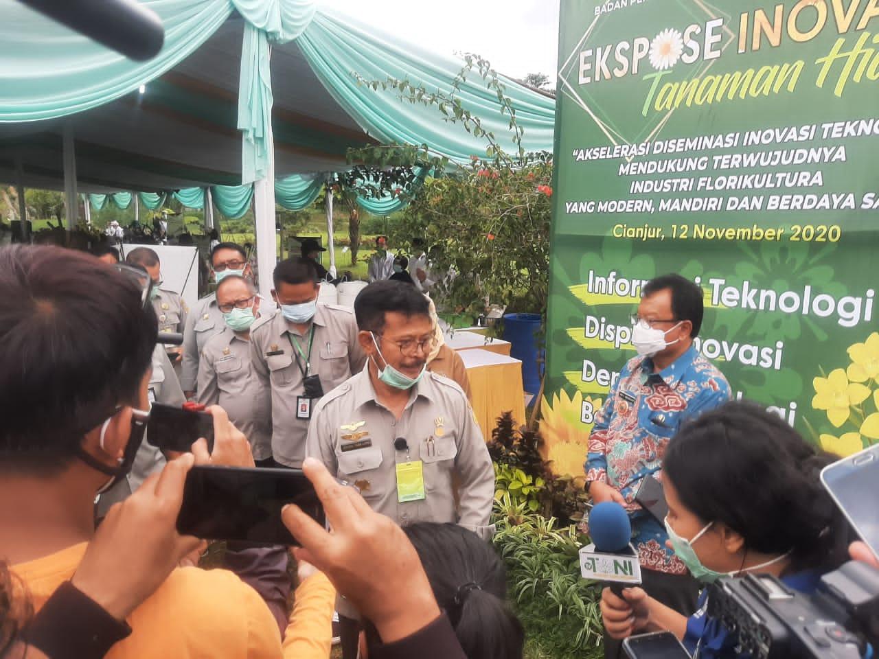Inovasi Tanaman Hias Dorong Daya Saing Produk Florikultura Nasional