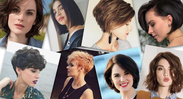 kolay kısa saç modelleri
