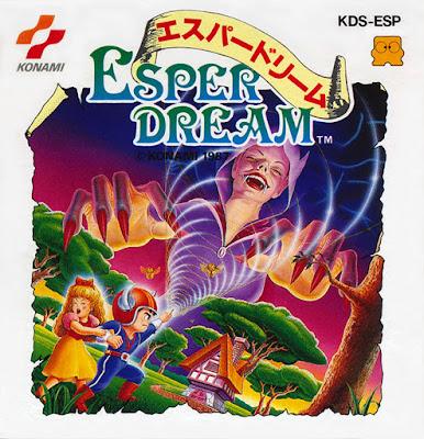 El Pequeño Rincón de los Grandes RPG - Esper Dream - Caja NTSC Jap