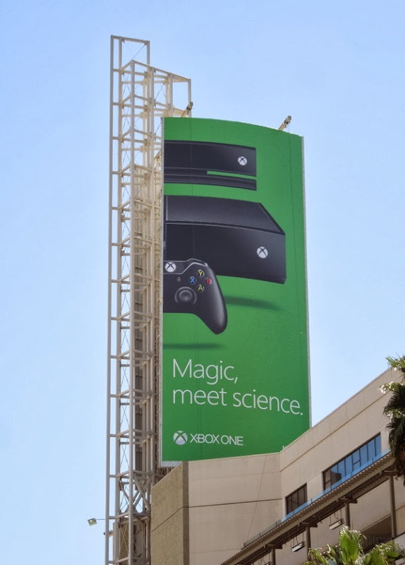 Magic, meet science Xbox One billboard