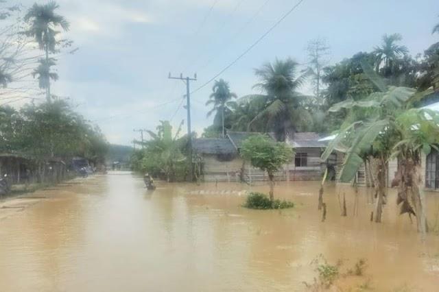Ratusan rumah di pedalaman Aceh Timur terendam banjir