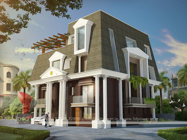 Roof Bungalow Home Design