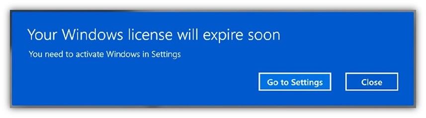 Cara Mudah Mengatasi Your Windows License Will Expire Soon