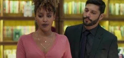 Gisele (Sheron Menezzes) vai voltar a ser amante de Diogo (Armando Babaioff)