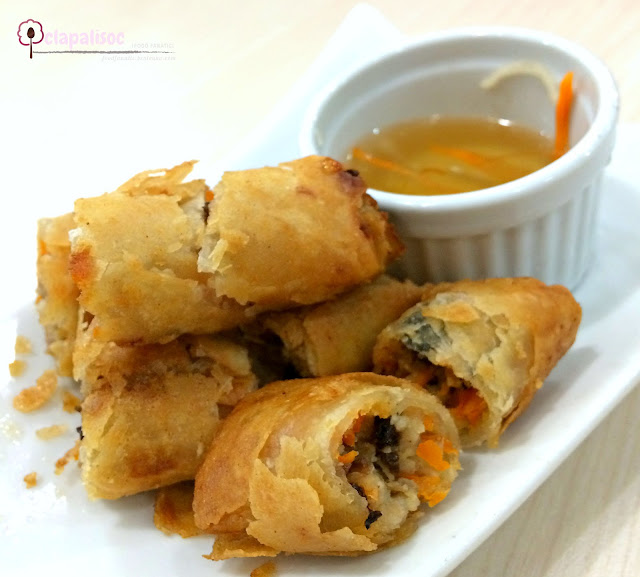 Fried Pork Spring Rolls from Tra Vinh
