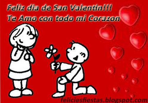 Tarjetas Y Mensajes Felices Fiestas Feliz Dia De San Valentin Mi Amor
