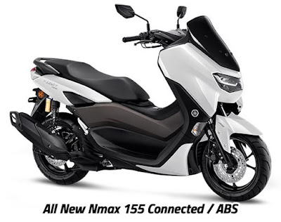 All New NMax Connected ABS dengan suspensi tabung